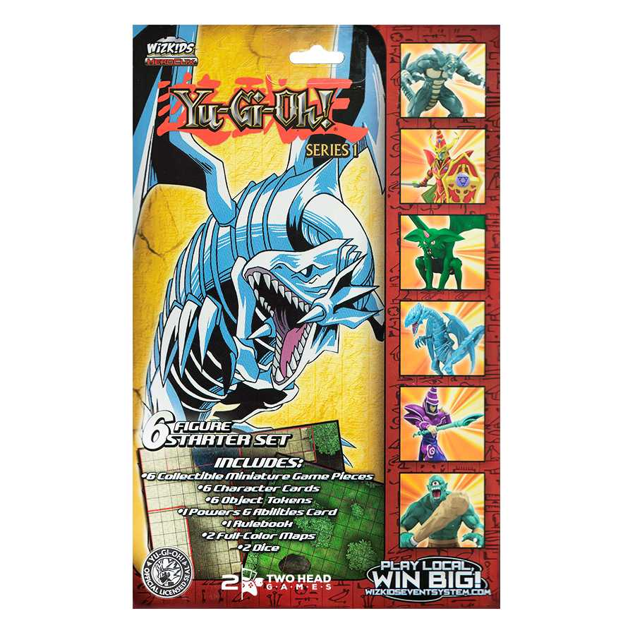 Heroclix Yugioh Starter Set 6 Personagens