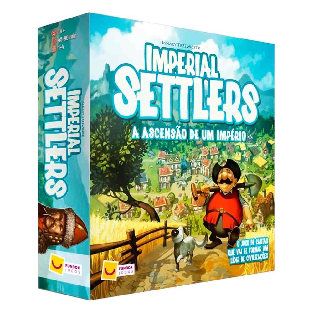 Imperial Settlers A Ascensão de um Império Jogo de Tabuleiro