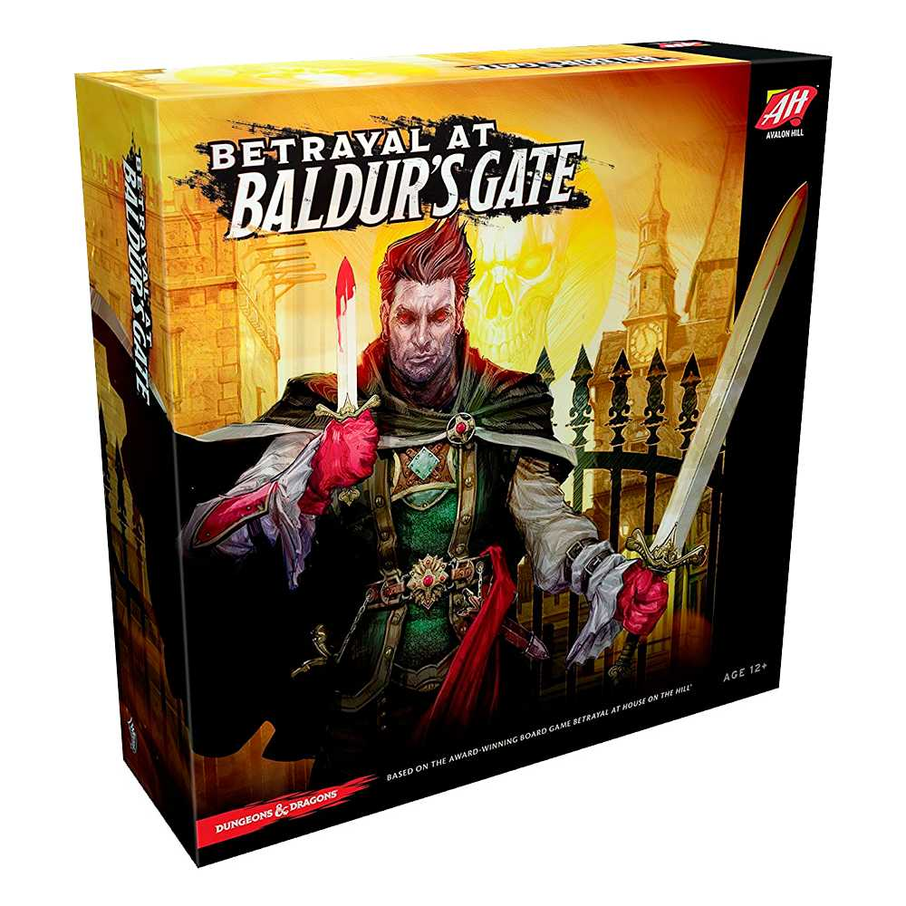 Jogo Betrayal At Baldurs Gate Dungeons and Dragons