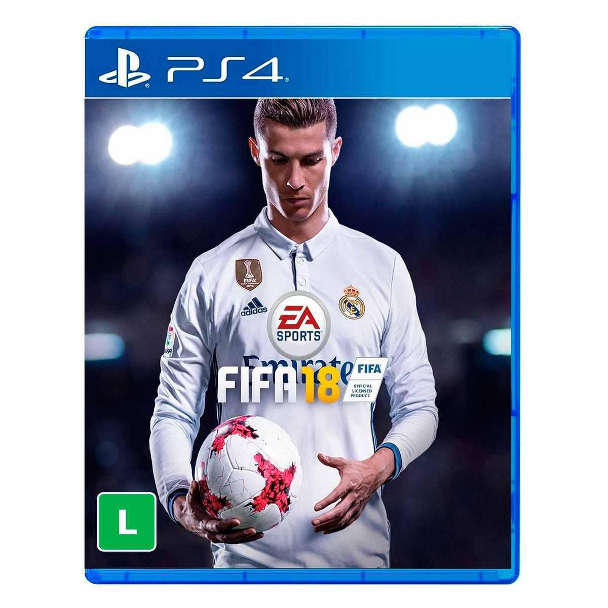 Jogo Fifa 18 Playstation 4