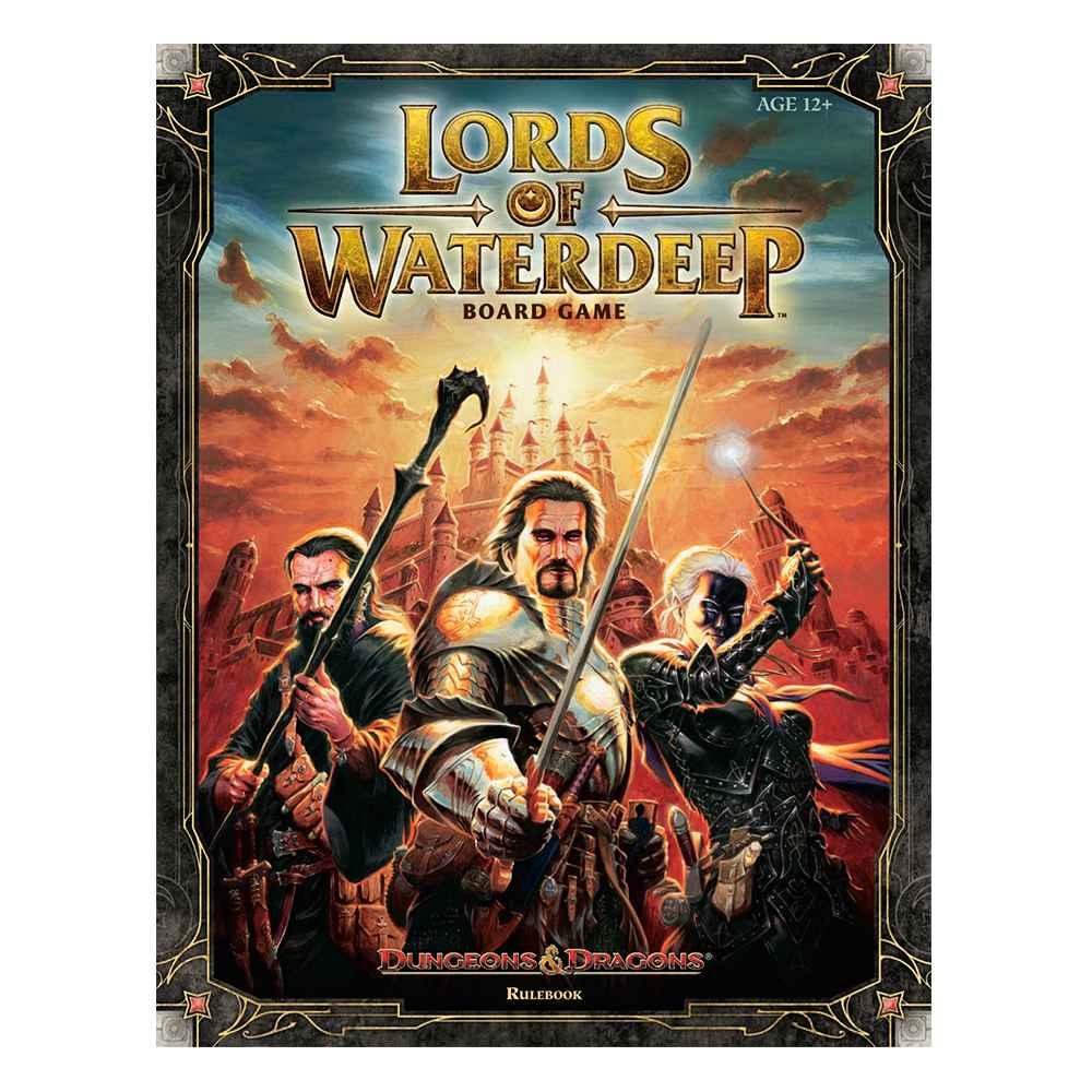 Jogo Tabuleiro Lords Of Waterdeep Dungeons Dragons