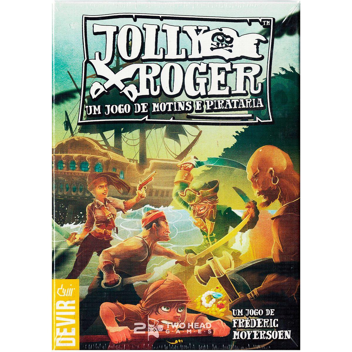 Jolly Roger Um Jogo de Motins e Pirataria Devir