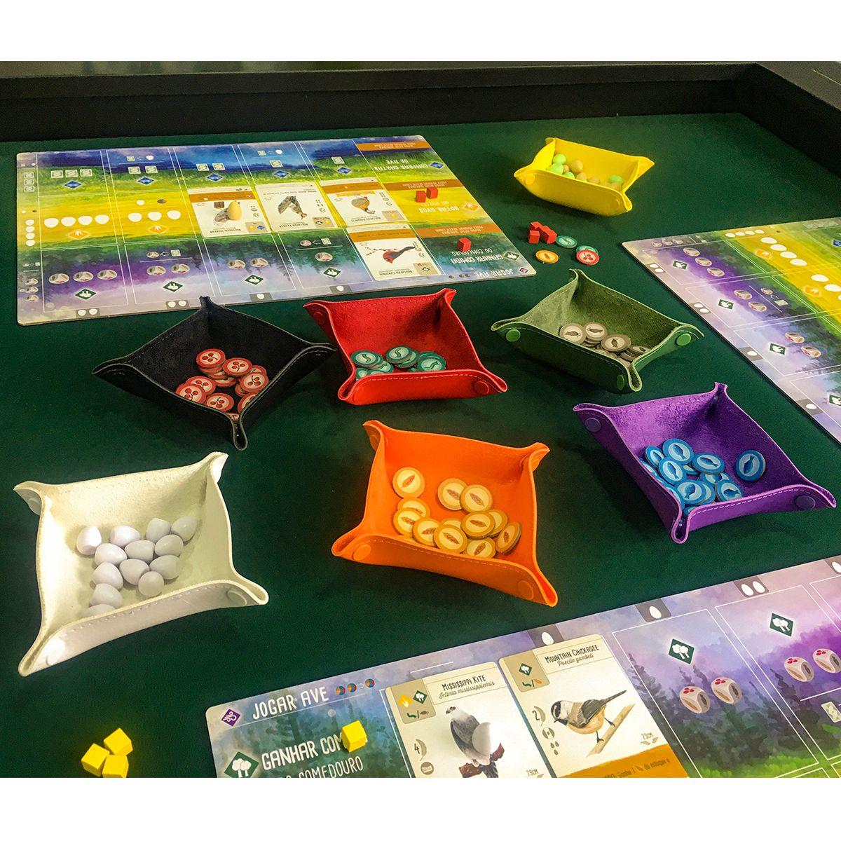 Kit Com 10 Bandejas de Peças Board Game