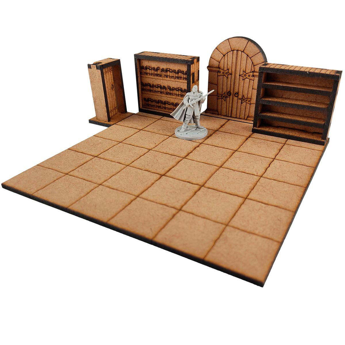 Kit de Portas Para Cenário RPG Bucaneiros