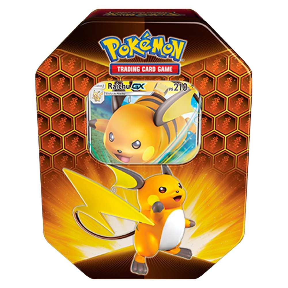 Lata Pokemon Destinos Ocultos Raichu Gx
