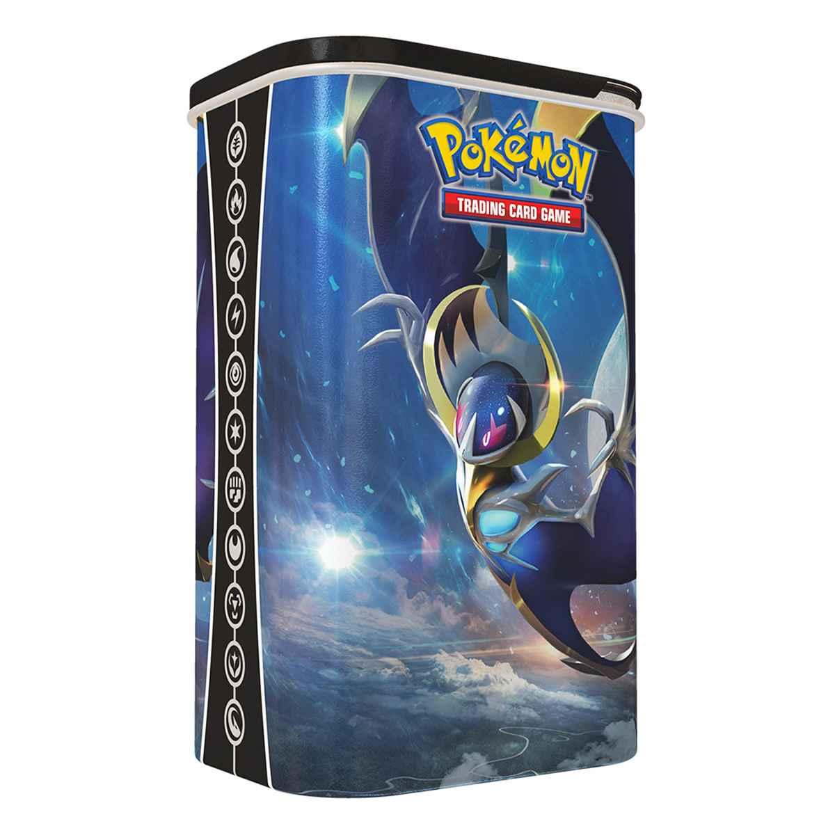 Lata Porta Card Lunala Pokemon Treinador Elite