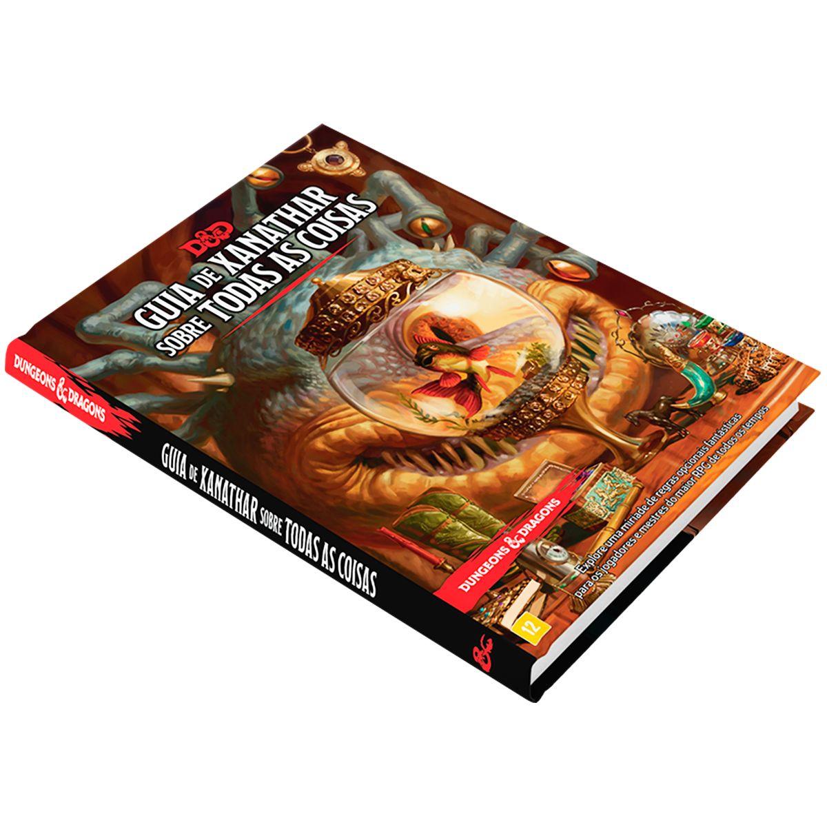 Livro Dungeons Dragons Guia de Xanathar para todas as Coisas Rpg