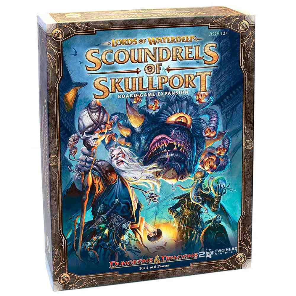 Lords Waterdeep Scoundrels of Skullport Expansão Board Game
