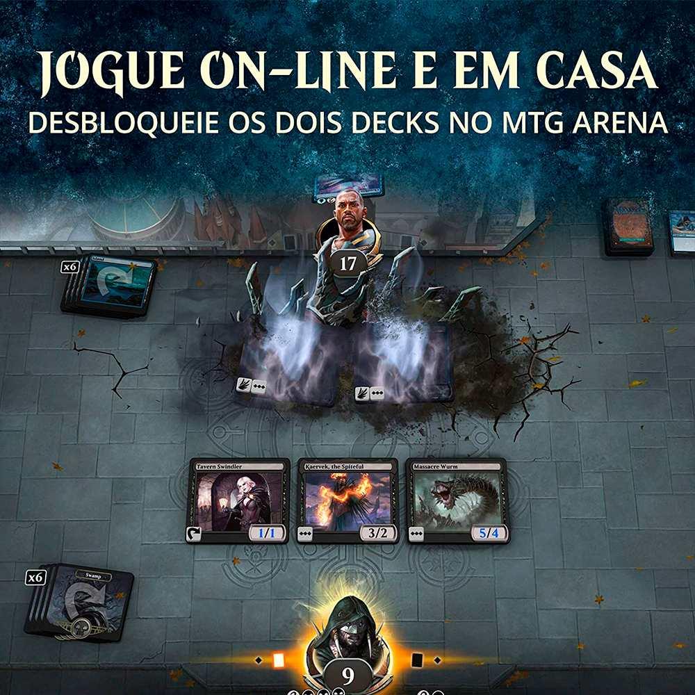 Magic Arena Kit Inicial Coleção Básica 2021 M21