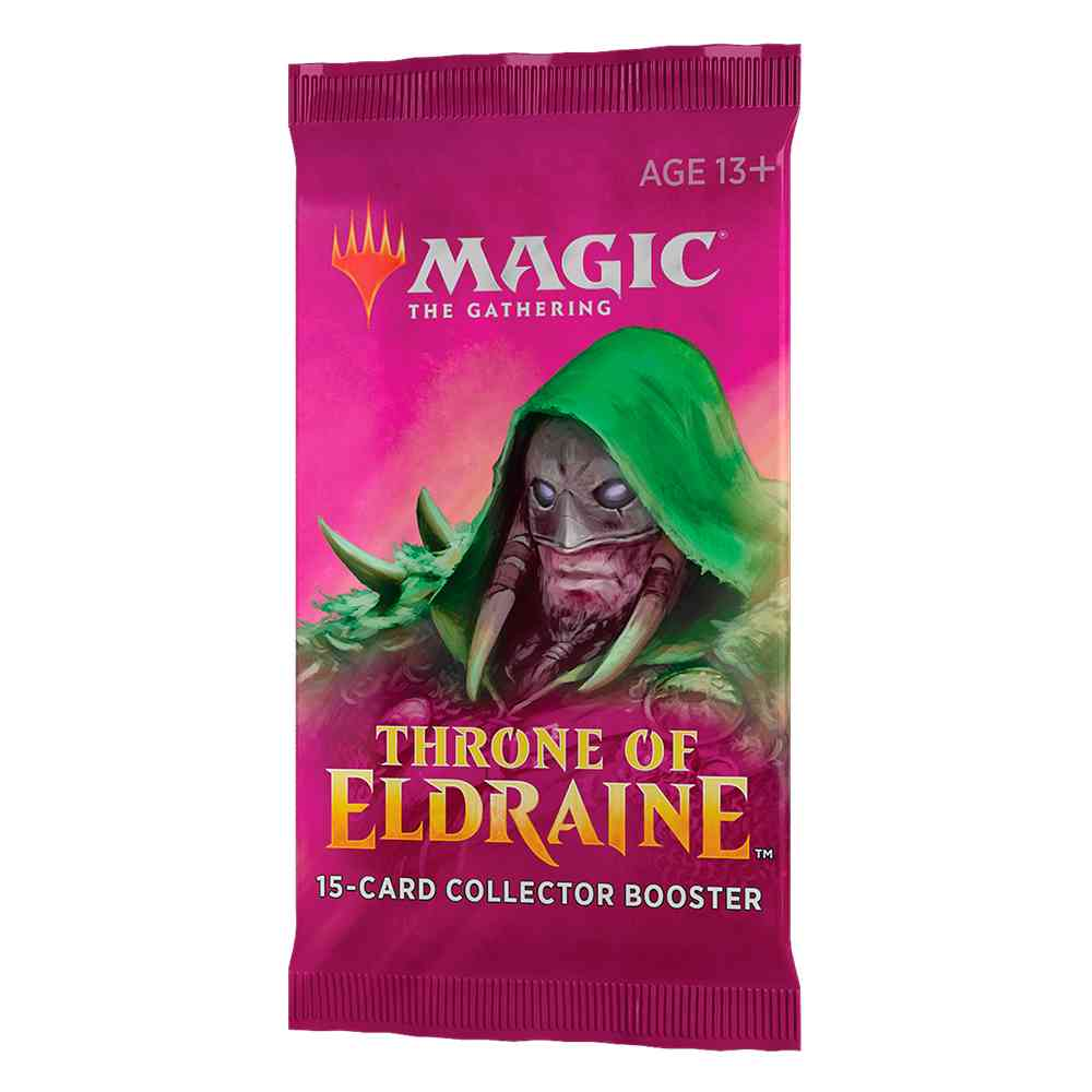 Magic Box Collector Booster Throne Of Eldraine - Colecionador