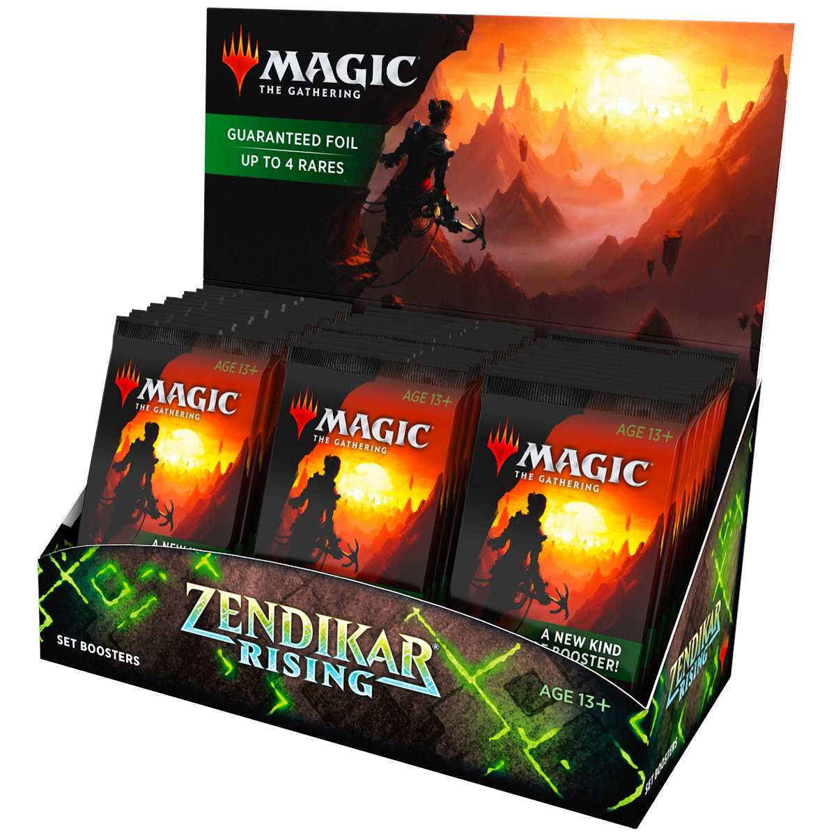 Magic Box Set Booster Zendikar Rising