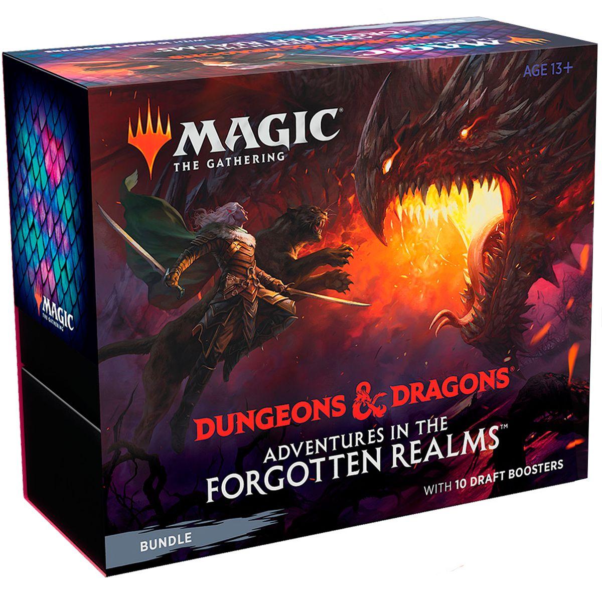 Magic Bundle Adventures In The Forgotten Realms D&D Inglês