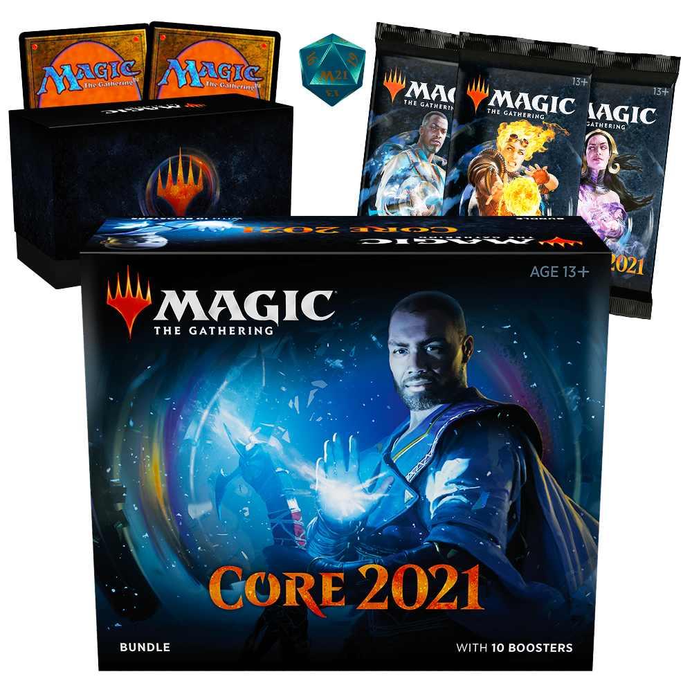 Magic Bundle Coleção Básica 2021 Core Set M21 Pacote