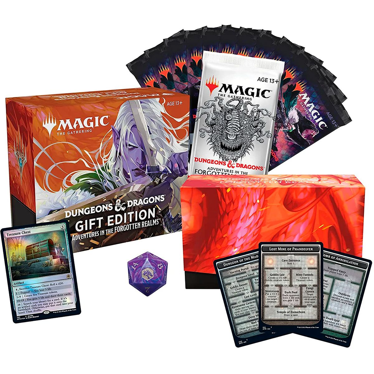 Magic Bundle Gift Edition Dungeons Dragons Forgotten Realms