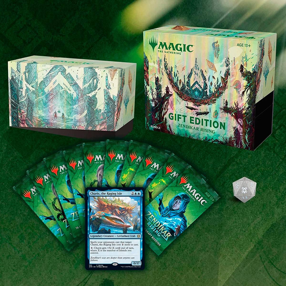 Magic Bundle Gift Edition Zendikar Rising Inglês
