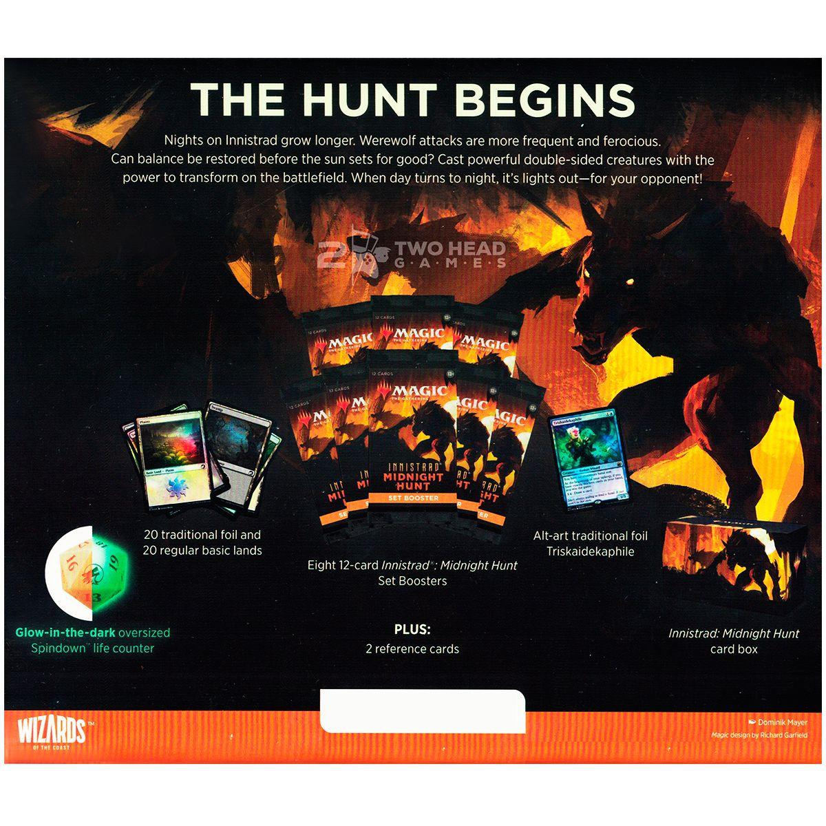 Magic Bundle Innistrad Midnight Hunt Set Booster Inglês