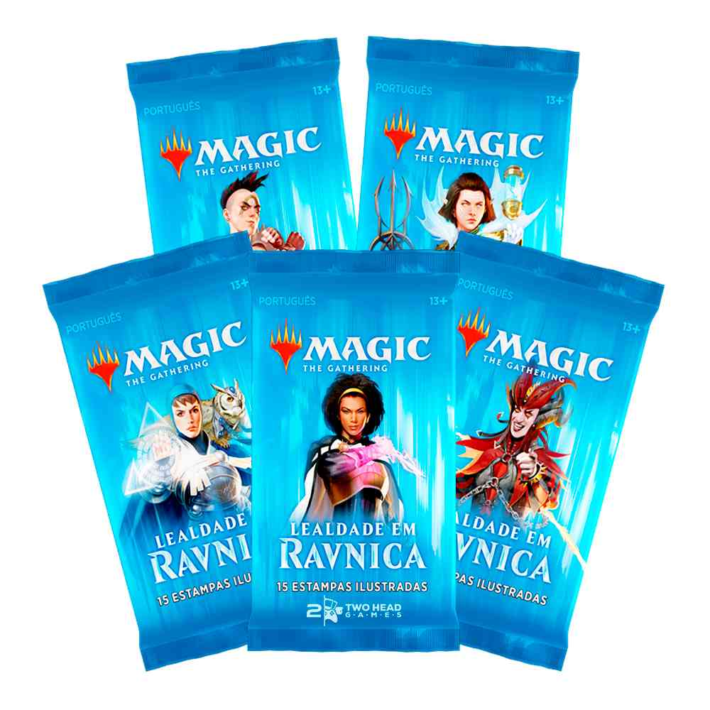 Magic Bundle Lealdade em Ravnica Allegiance - Fat Pack