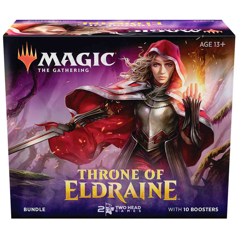 Magic Bundle Throne Of Eldraine Pacote Trono