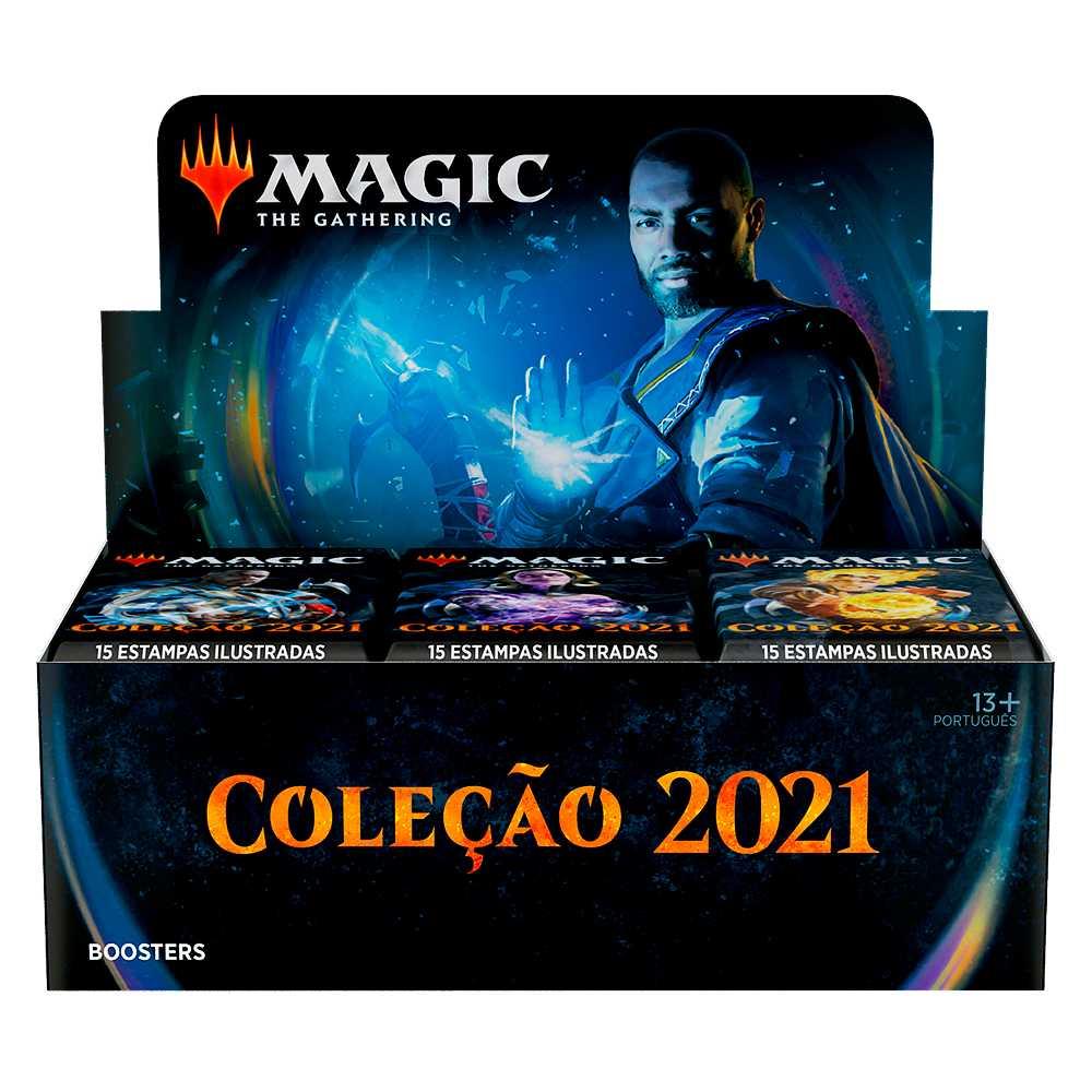 Magic Caixa de Booster Coleção Básica 2021 Core Set M21