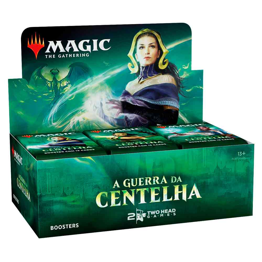 Magic Caixa de Booster Guerra da Centelha War Spark