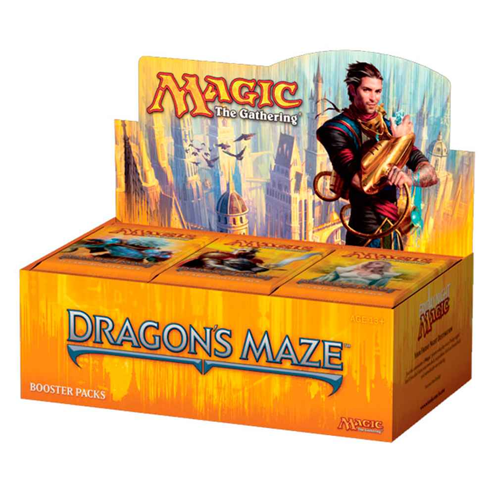 Magic Caixa de Booster Labirinto do Dragão Dragons Maze