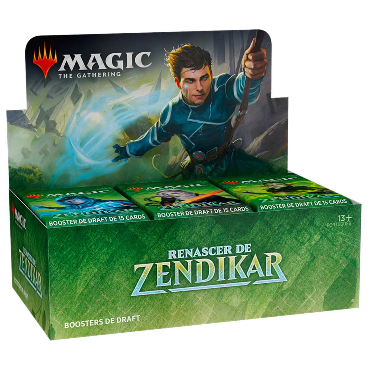 Magic Caixa de Booster Renascer de Zendikar