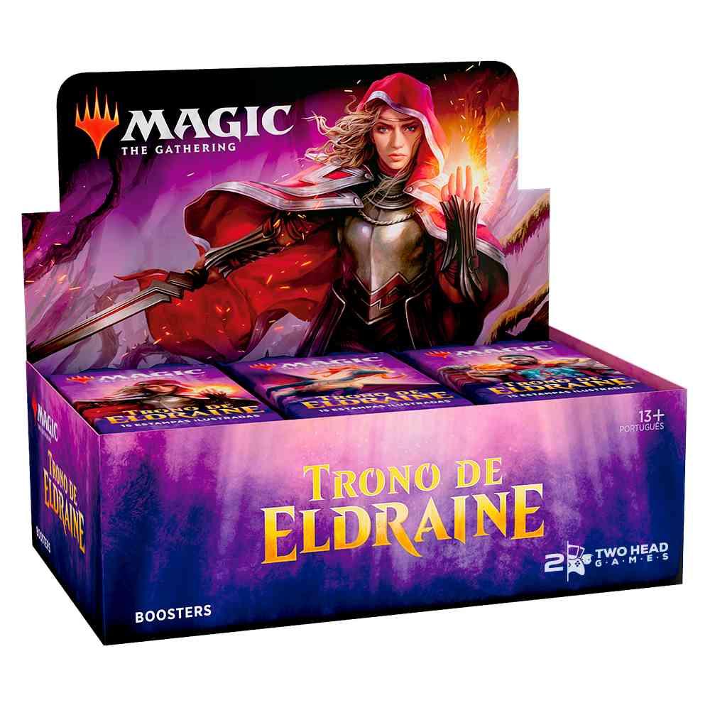 Magic Caixa de Booster Trono de Eldraine - Throne