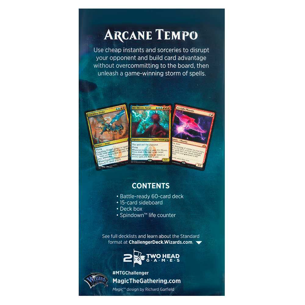 Magic Challenger Deck 2019 Arcane Tempo Standard