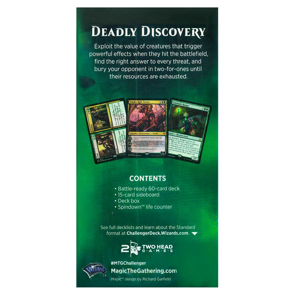 Magic Challenger Deck 2019 Deadly Discovery Standard