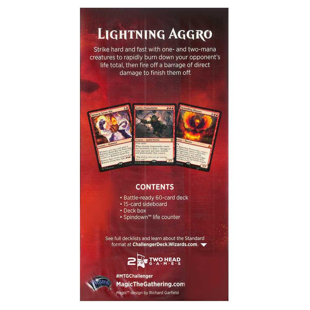 Magic Challenger Deck 2019 Lightning Aggro Standard