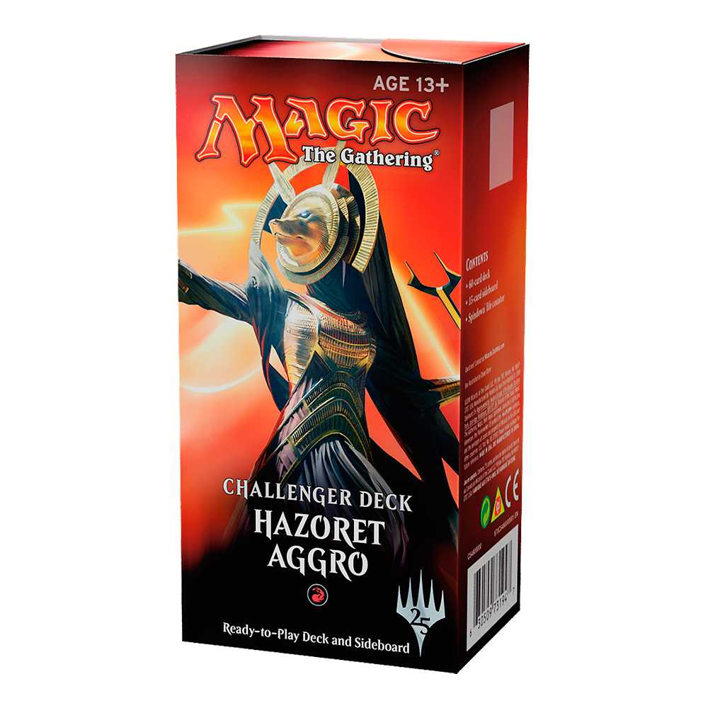 Magic Challenger Deck Standard Hazoret Aggro