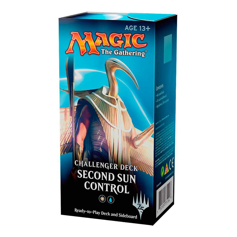 Magic Challenger Deck Standard Second Sun Control
