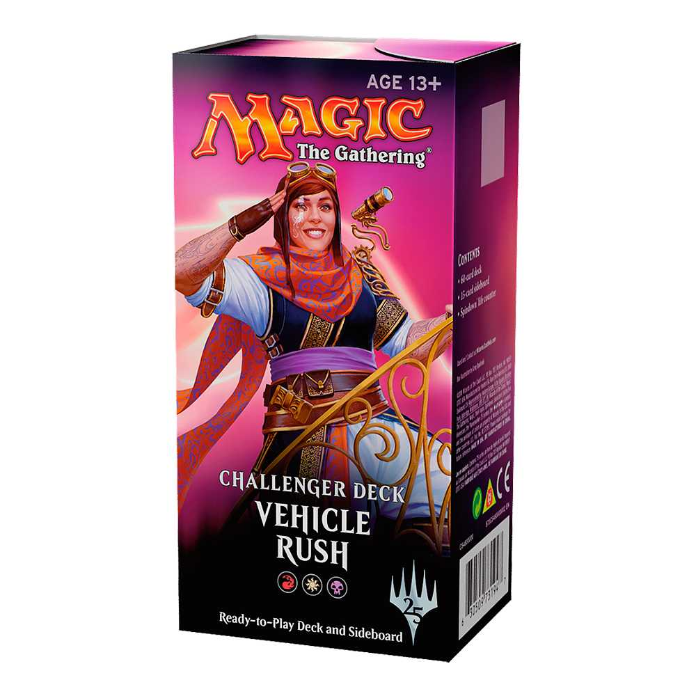 Magic Challenger Deck Standard Vehicle Rush