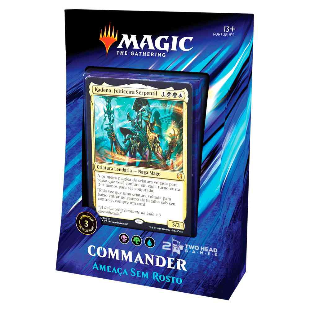 Magic Commander 2019 Deck Ameaca Sem Rosto - Faceless Menace