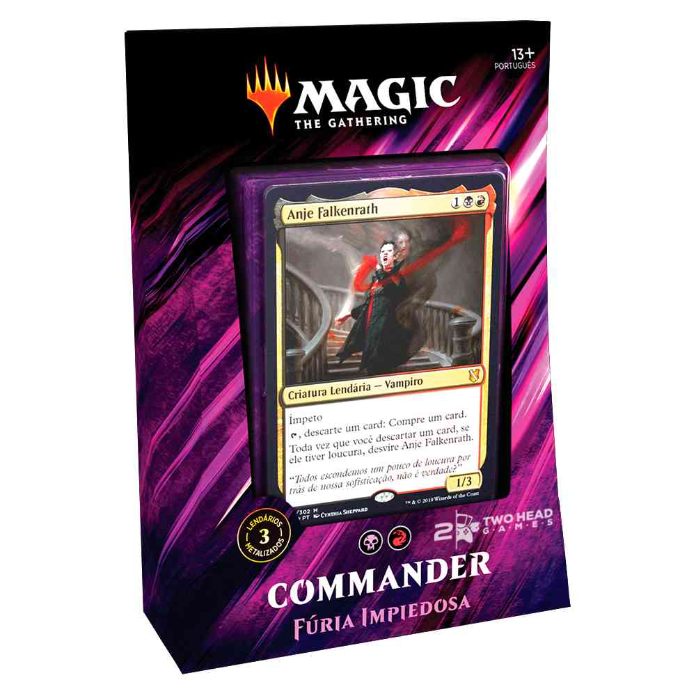 Magic Commander 2019 Deck Furia Impiedosa - Merciless Rage