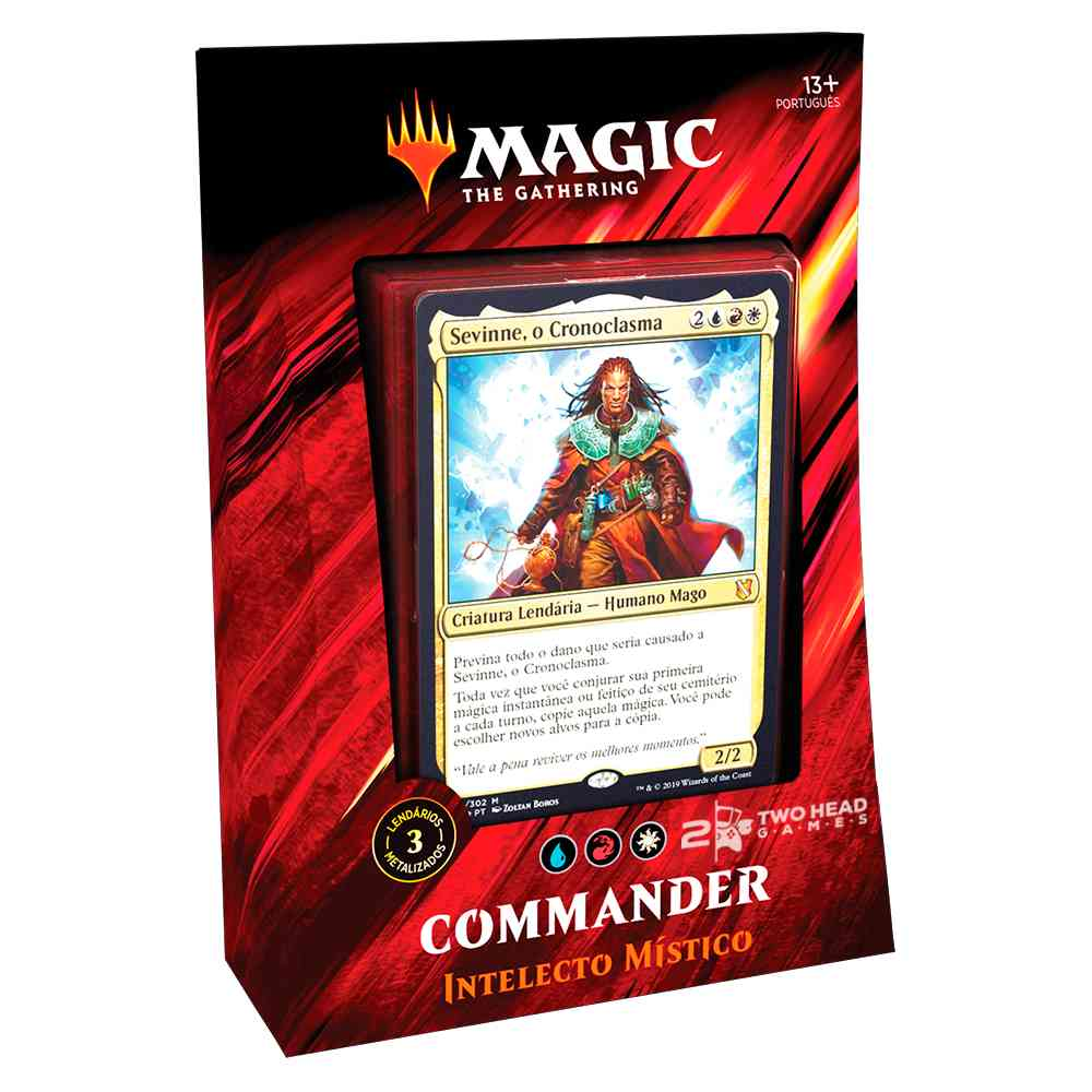Magic Commander 2019 Deck Intelecto Mistico - Mystic Intellect