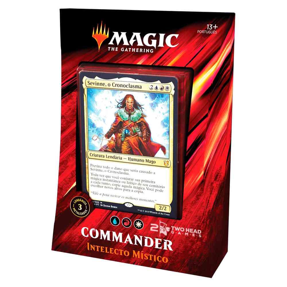 Magic Commander 2019 Deck Intelecto Mistico - Mystic Intellect