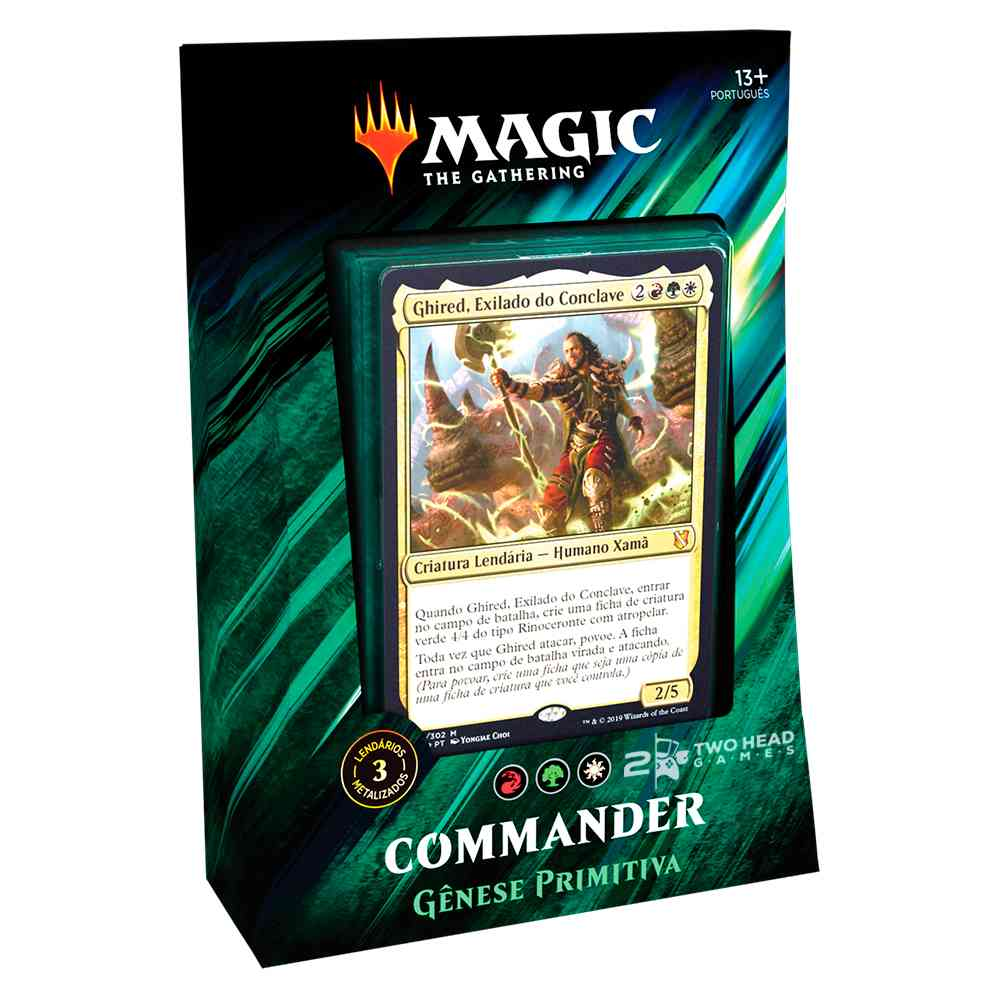 Magic Commander 2019 Deck Genese Primitiva - Primal Genesis