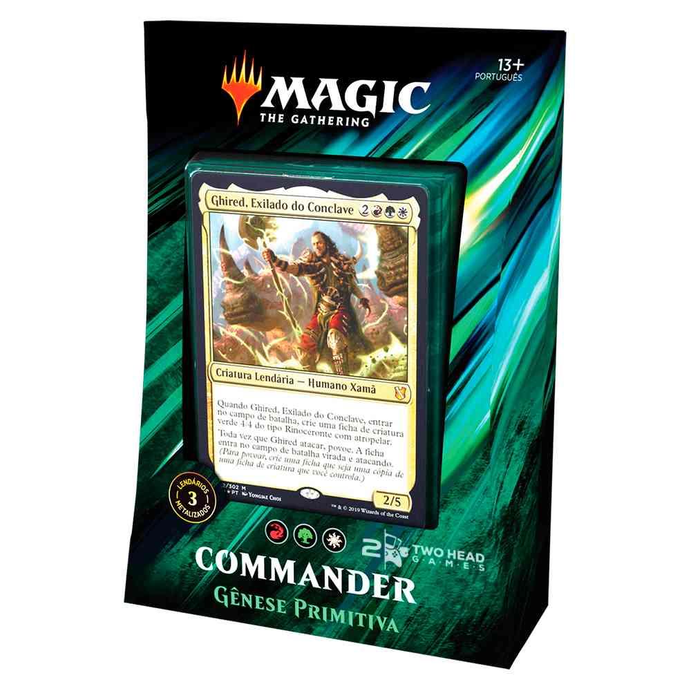 Magic Commander 2019 Deck Genese Primitiva - Primal Genesis