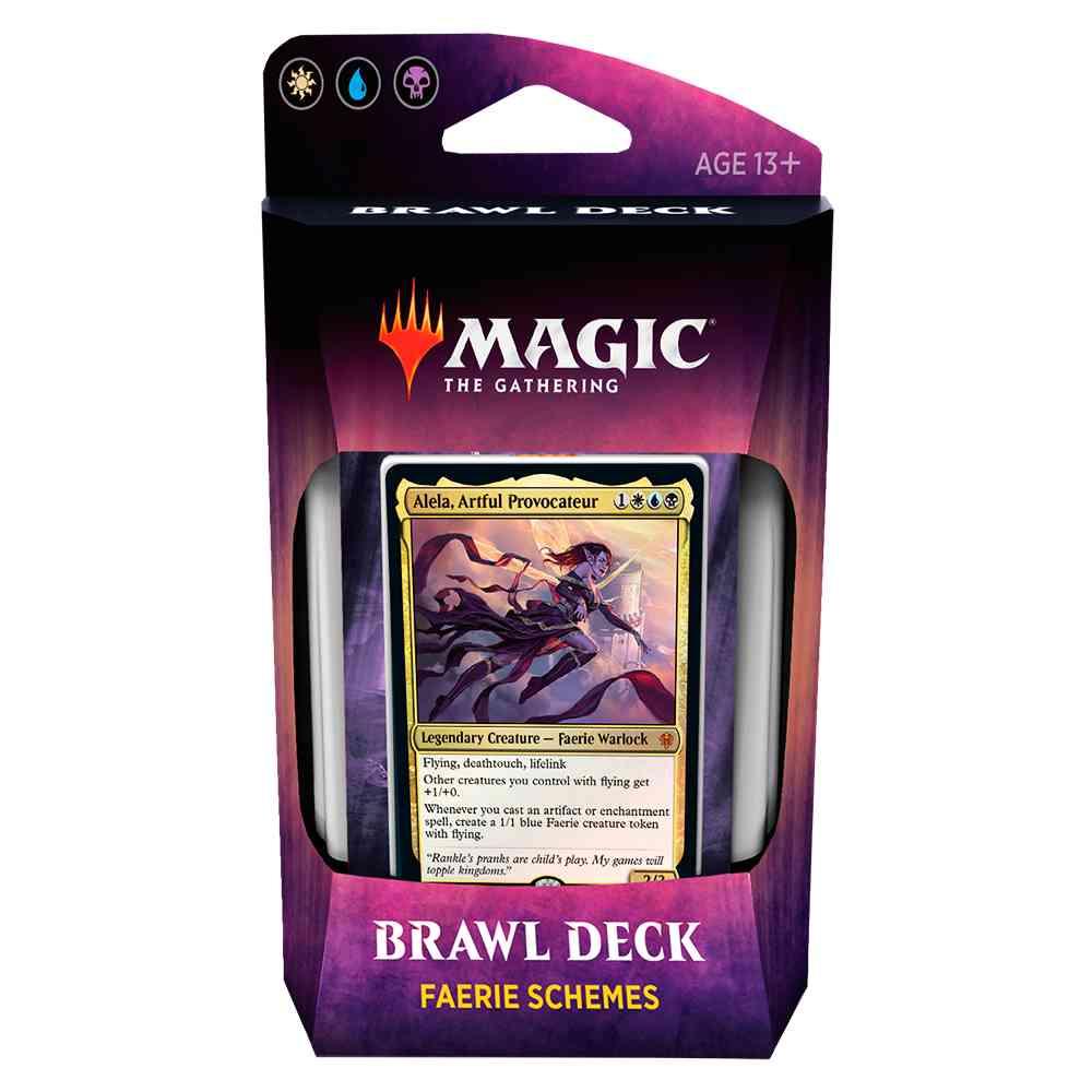 Magic Deck Brawl Faerie Schemes Throne Of Eldraine