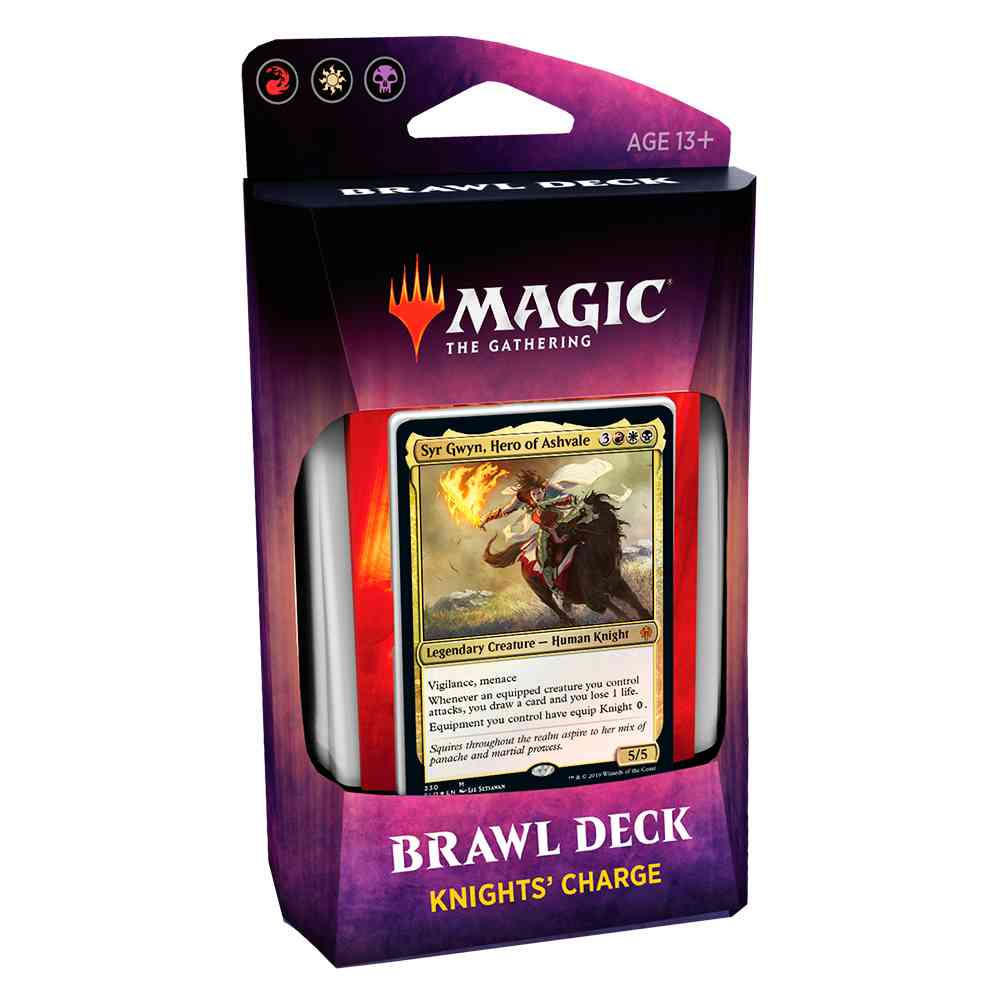 Magic Deck Brawl Knights Charge Throne Of Eldraine