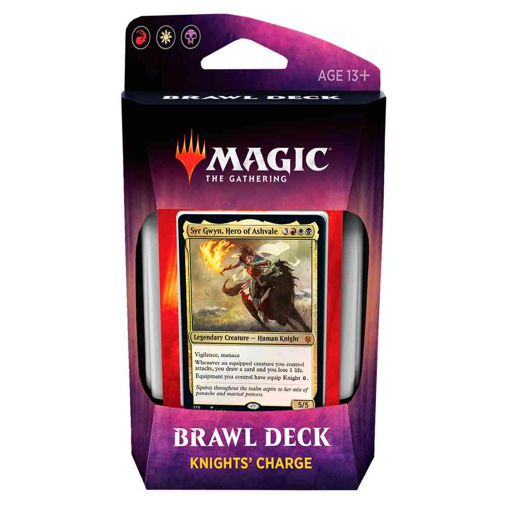 Magic Deck Brawl Knights Charge Throne Of Eldraine