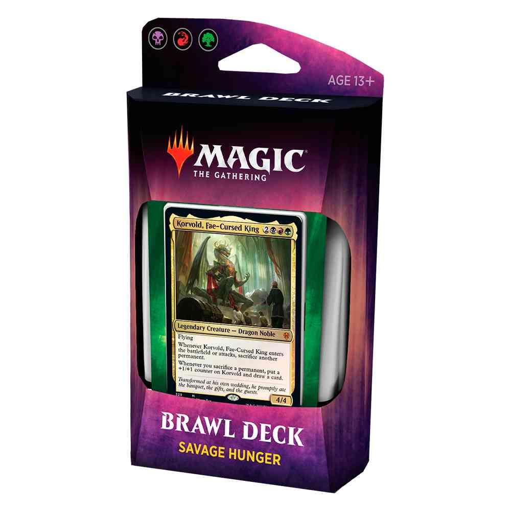 Magic Deck Brawl Savage Hunger Throne Of Eldraine