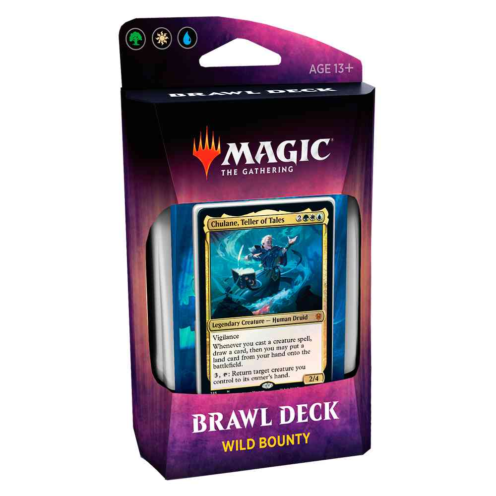 Magic Deck Brawl Wild Bounty Throne Of Eldraine