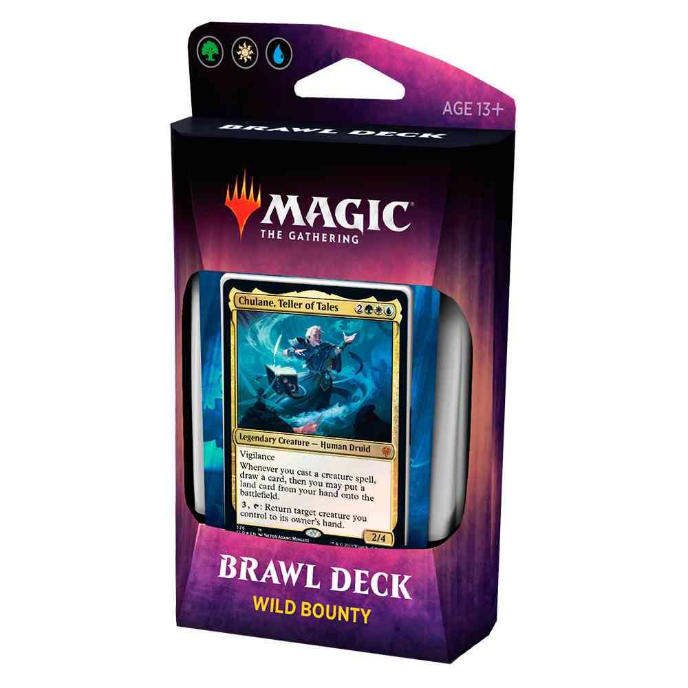 Magic Deck Brawl Wild Bounty Throne Of Eldraine
