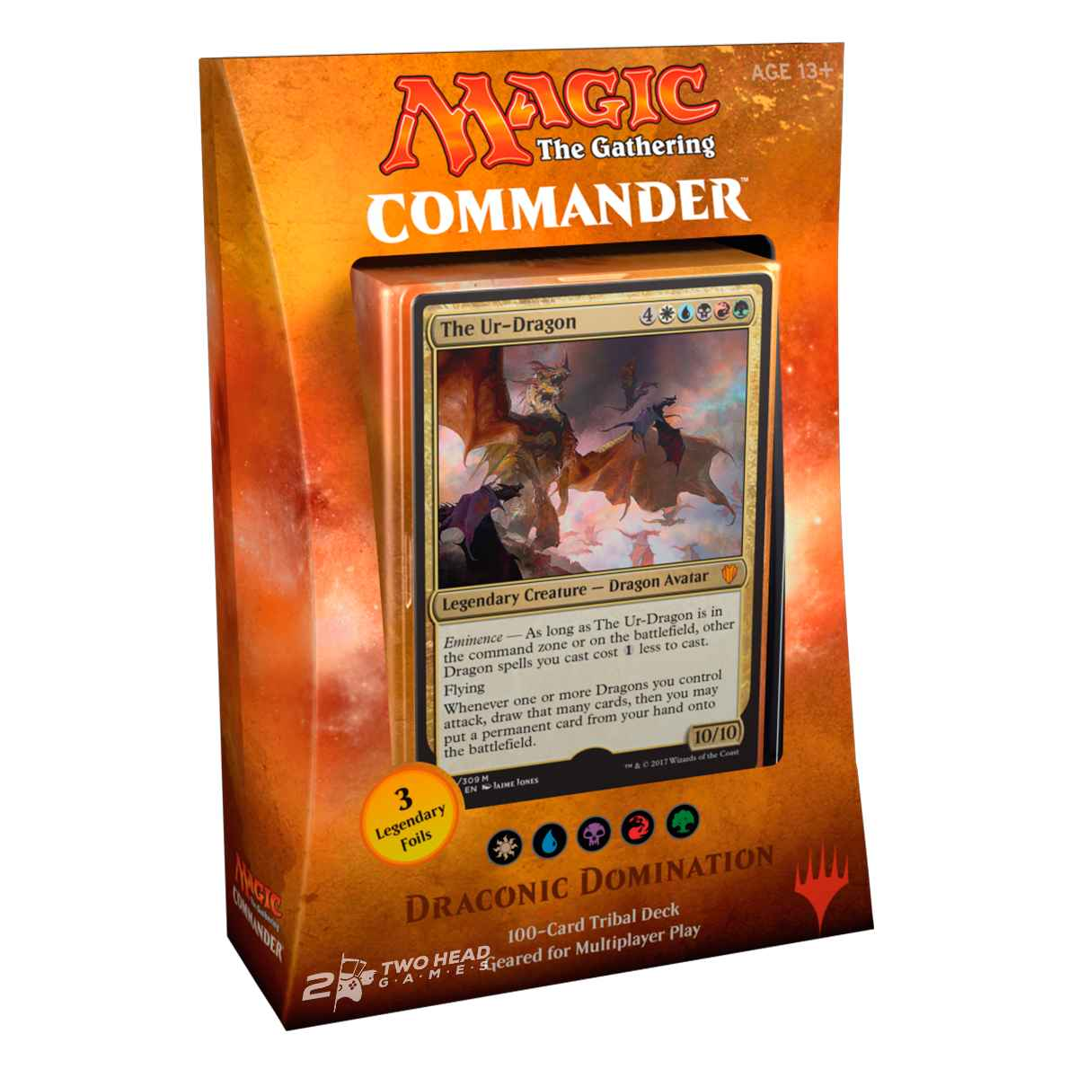 Magic Deck Commander 2017 Dominação Dragônica
