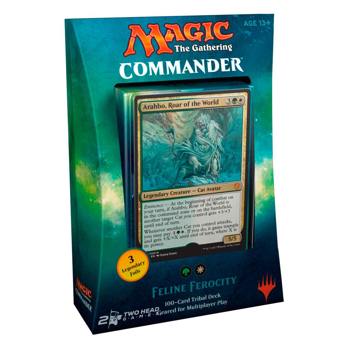 Magic Deck Commander 2017 Ferocidade Felina