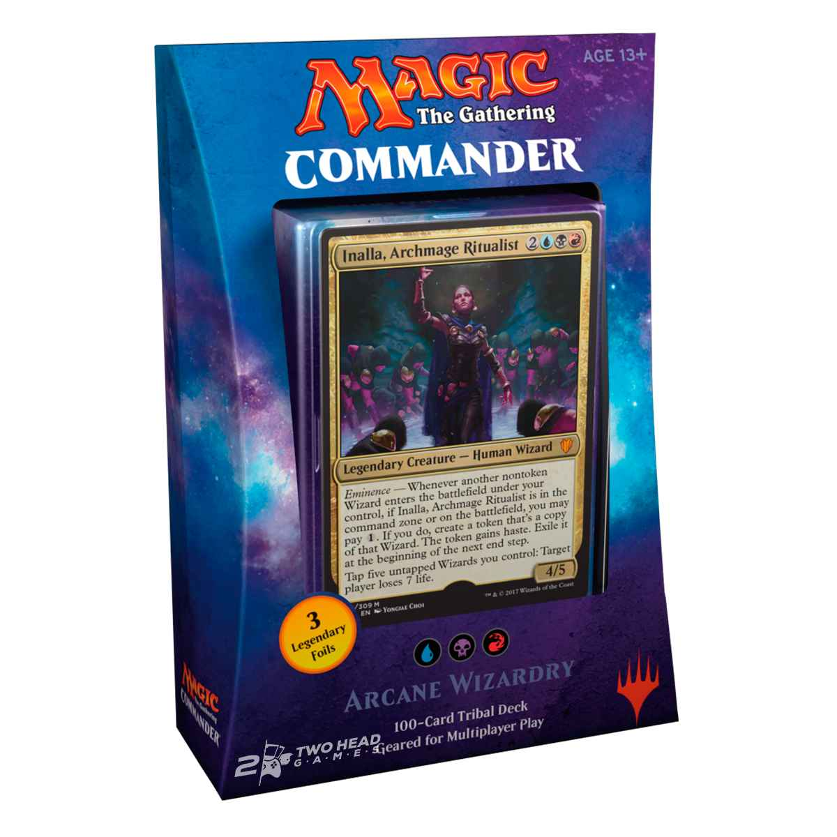 Magic Deck Commander 2017 Feitiçaria Arcana