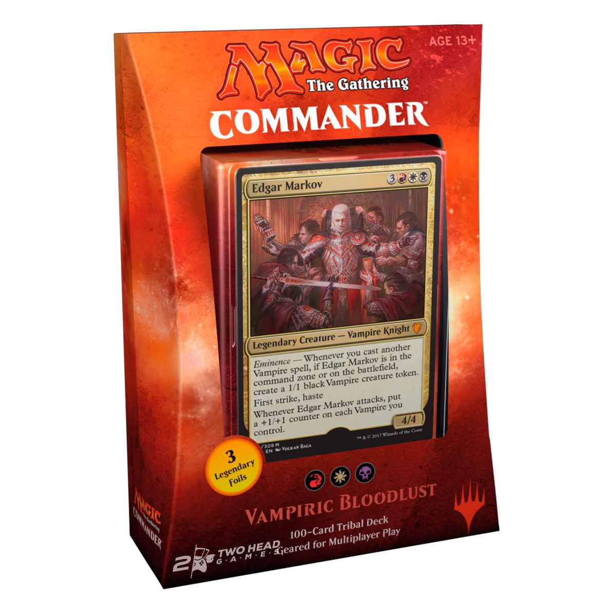 Magic Deck Commander 2017 Sede Vampírica