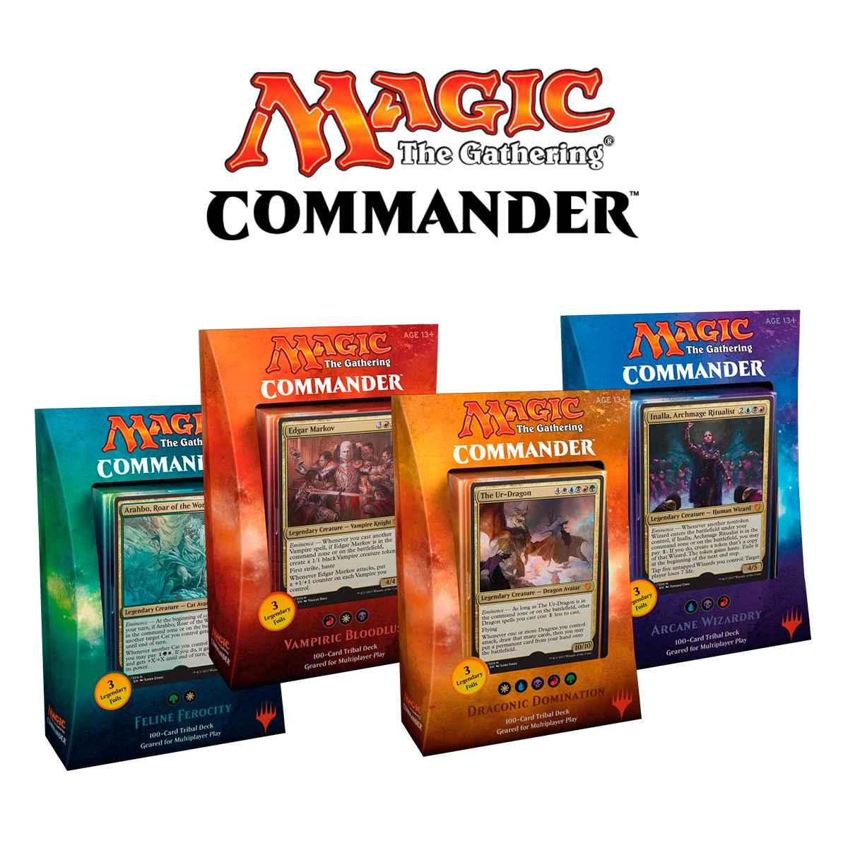 Magic Deck Commander 2017 Sede Vampírica